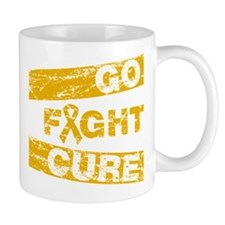 Appendix Cancer Go Fight Cure Mug