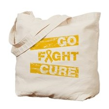 Appendix Cancer Go Fight Cure Tote Bag
