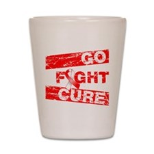 Aplastic Anemia Go Fight Cure Shot Glass