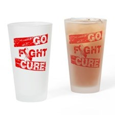 Aplastic Anemia Go Fight Cure Drinking Glass