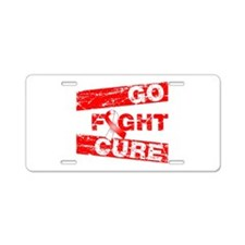 Aplastic Anemia Go Fight Cure Aluminum License Pla
