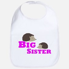Big Sister Hedgehog Bib