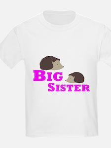 Big Sister Hedgehog T-Shirt
