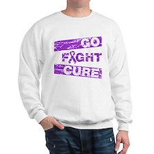 Alzheimers Disease Go Fight Cure Sweatshirt