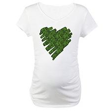 Green Leaves Heart Shirt