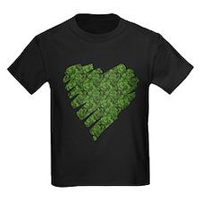 Green Leaves Heart T