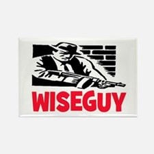 WISE GUY Rectangle Magnet