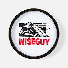 WISE GUY Wall Clock