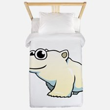 Cartoon Polar Bear Twin Duvet