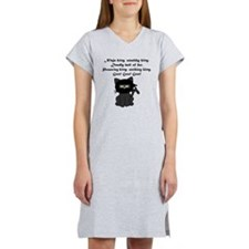 Ninja Kitty Women's Nightshirt