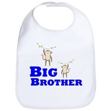 Big Brother Monkey Bib