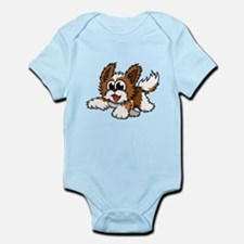 Cartoon Shih Tzu Infant Bodysuit
