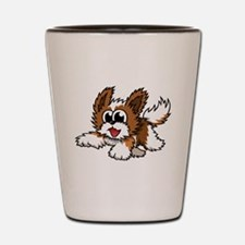 Cartoon Shih Tzu Shot Glass