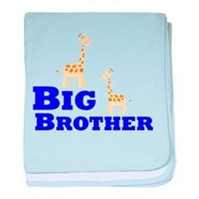 Big Brother Giraffe baby blanket