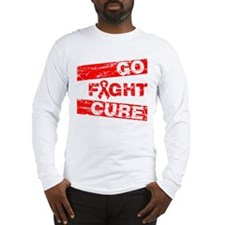AIDS Go Fight Cure Long Sleeve T-Shirt