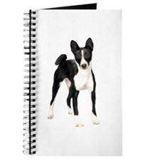 Basenji (black-white) Journal