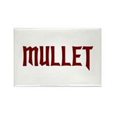 MULLET Rectangle Magnet