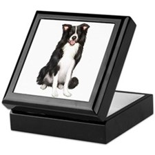 Border Collie #1 Keepsake Box