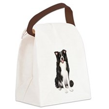 Border Collie #1 Canvas Lunch Bag