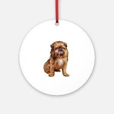 Brussels Griffon (#1) Ornament (Round)