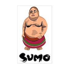Japan Sumo Rectangle Decal