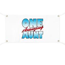 One Amazing Aunt Banner