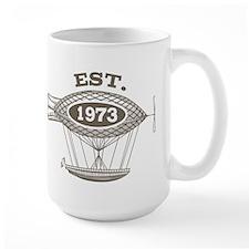 Vintage Birthday Est 1973 Mug