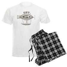 Vintage Birthday Est 1975 Pajamas