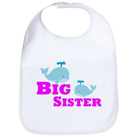 Big Sister Whale Bib