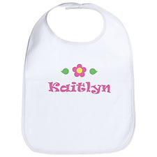 "Pink Daisy - ""Kaitlyn"" Bib"