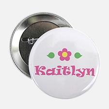 "Pink Daisy - ""Kaitlyn"" Button"