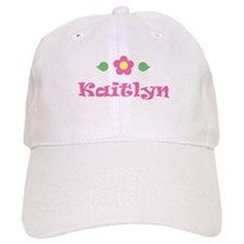 "Pink Daisy - ""Kaitlyn"" Baseball Cap"