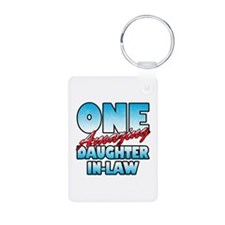 One Amazing Daughter-In-Law Keychains