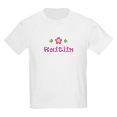 """Pink Daisy - """"Kaitlin"""" Kids T-Shirt"""