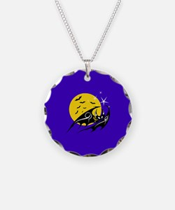 Bats Flying Necklace