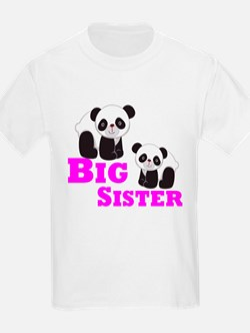 Big Sister Panda T-Shirt