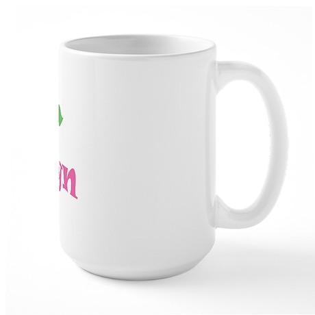 "Pink Daisy - ""Kailyn"" Large Mug"
