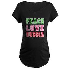 Peace Love Russia T-Shirt
