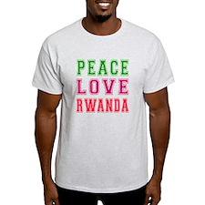 Peace Love Rwanda T-Shirt