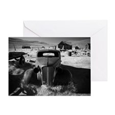 '37 chevy - bodie, ca Greeting Card