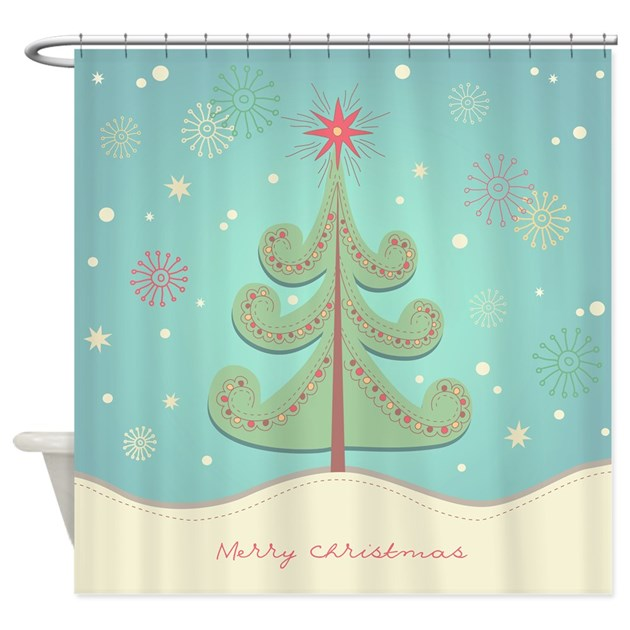 Christmas Shower Curtain By Bestshowercurtains
