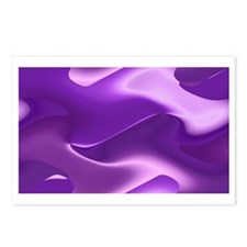 Purple abstract design  Postcards (Package of 8)