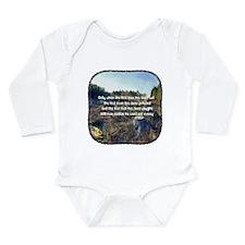 Last Tree Cut Long Sleeve Infant Bodysuit