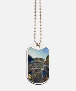 Last Tree Cut Dog Tags