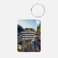 Last Tree Cut Keychains