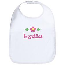 """Pink Daisy - """"Lydia"""" Bib"""