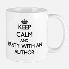 Keep Calm and Party With an Author Mugs