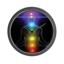 CHAKRAS 1 Wall Clock