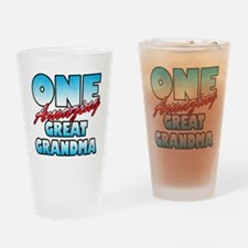One Amazing Great Grandma Drinking Glass