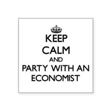 Keep Calm and Party With an Economist Sticker